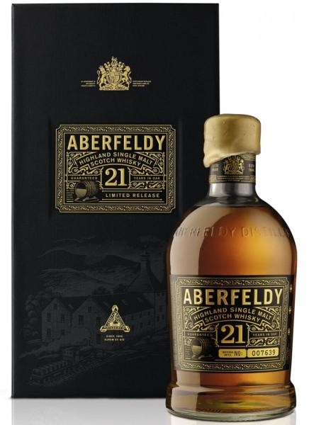 Aberfeldy 21 Years Highland Single Malt Scotch Whisky 0,7 L