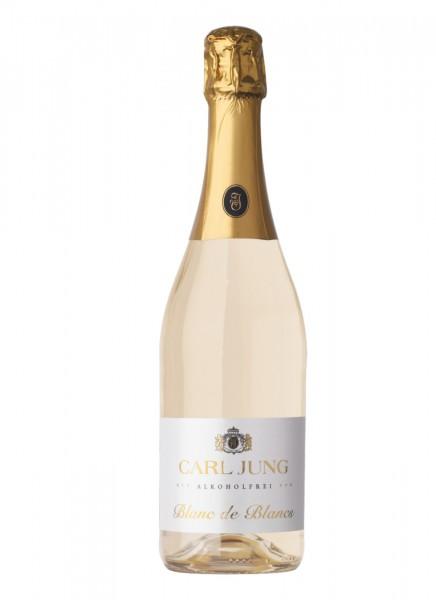 Carl Jung Blanc de Blancs Schaumwein Alkoholfrei 0,75 L