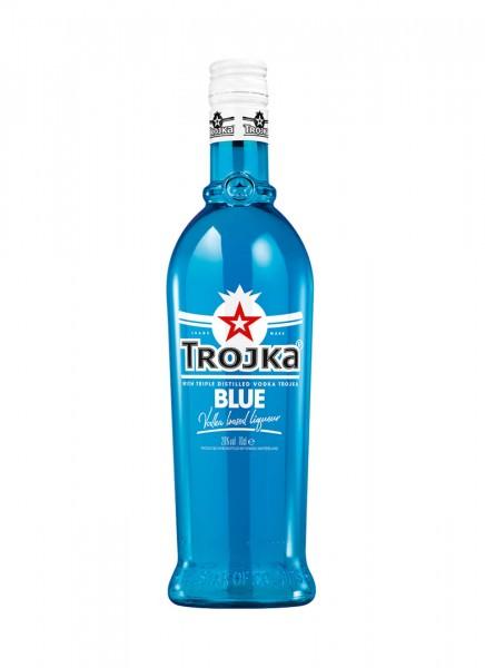 Trojka Vodka Likör Blue 0,7 L