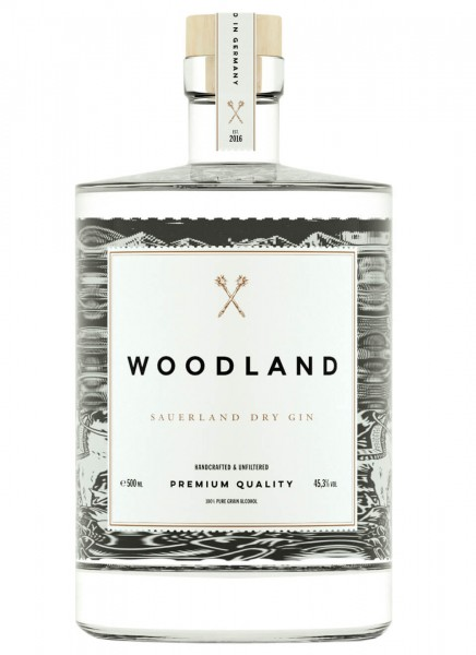 Woodland Sauerland Dry Gin 0,5 L