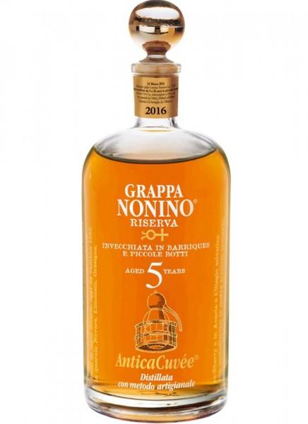 Grappa Nonino Riserva Antica Cuvée 0,7 L