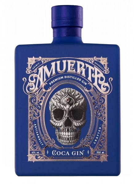 Amuerte Coca Leaf Gin - Blue Edition 0,7 L