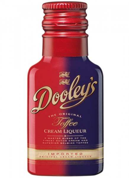 Dooleys Toffee & Vodka Mini Cream Likör 0,02 L