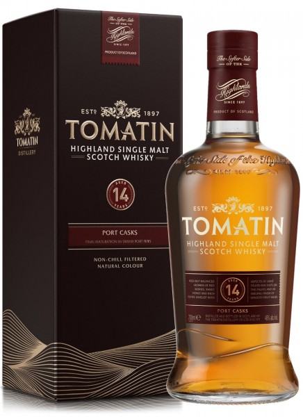 Tomatin 14 Years Highland Single Malt Scotch Whisky 0,7 L