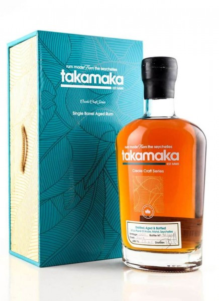 Takamaka Creole Craft Series Single Barrel Aged Rum Limitiert 0,7 L