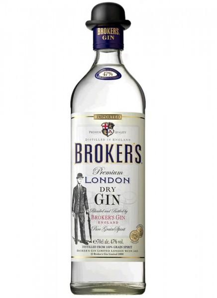 Brokers Premium Dry Gin 47% 0,7 L