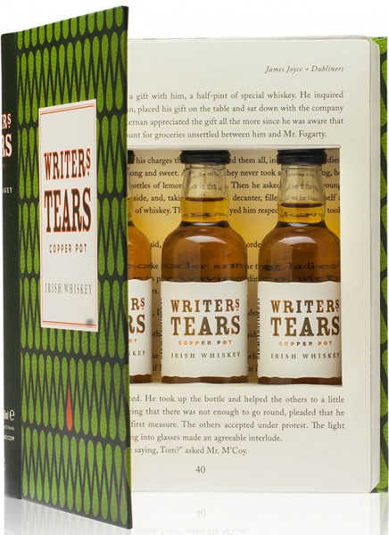 Writers Tears Irish Whiskey Mini-Set 0,15 L