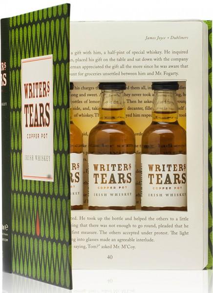 Writers Tears Irish Whiskey Mini-Set 0,15 L