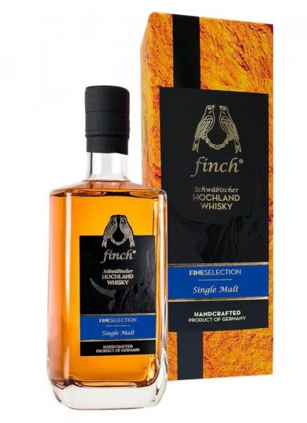 finch Fineselection Single Malt Schwäbischer Hochland Whisky 0,5 L