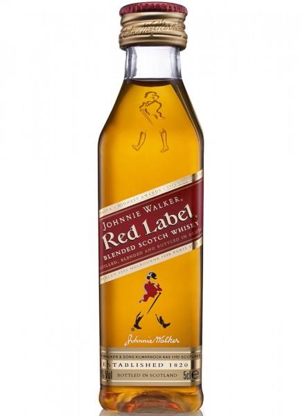 Johnnie Walker Red Label Blended Scotch Whisky Mini 0,05 L