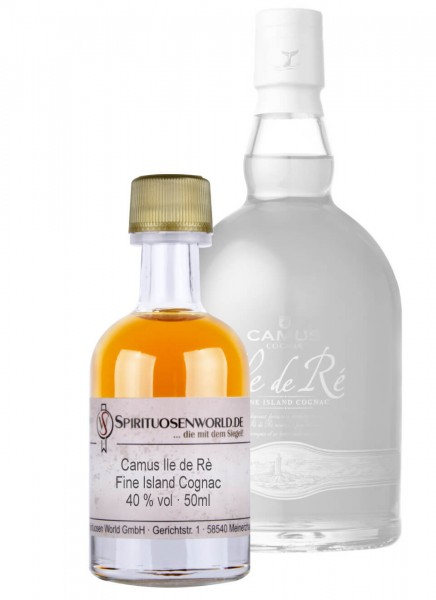 Camus Ile de Re Fine Island Cognac Tastingminiatur 0,05 L