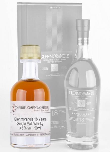 Glenmorangie 18 Jahre Whisky Tastingminiatur 0,05 L