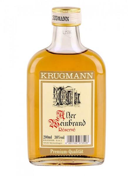 Krugmann Alter Weinbrand Taschenflasche 0,2 L