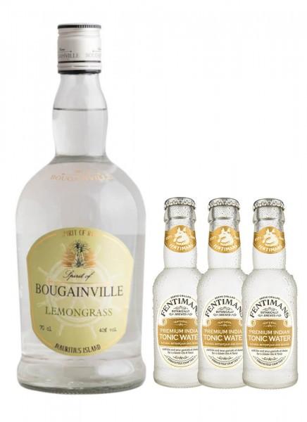 Bougainville Lemongrass 0,7 l + 3 Fentimans Tonic 0,2 L