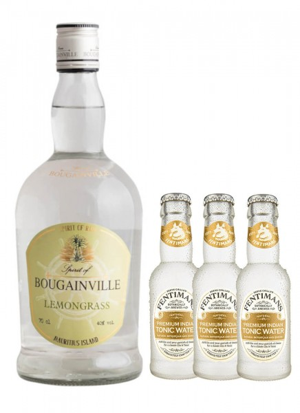 Bougainville Lemongrass 0,7 l + 3 Fentimans Tonic 0,2 L