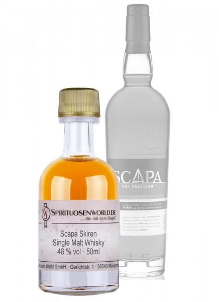 Scapa Skiren Single Malt Whisky Tastingminiatur 0,05 L