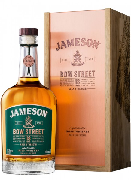 Jameson Bow Street 18 Jahre Irish Whiskey 0,7 L