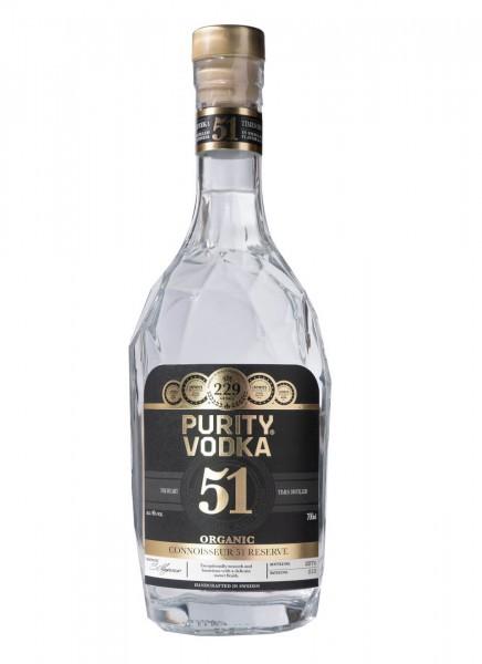 Purity Connoisseur 51 Reserve Vodka 0,7 L