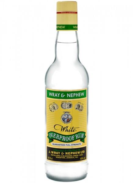 Wray & Nephew White Overproof 63% 0,7 L