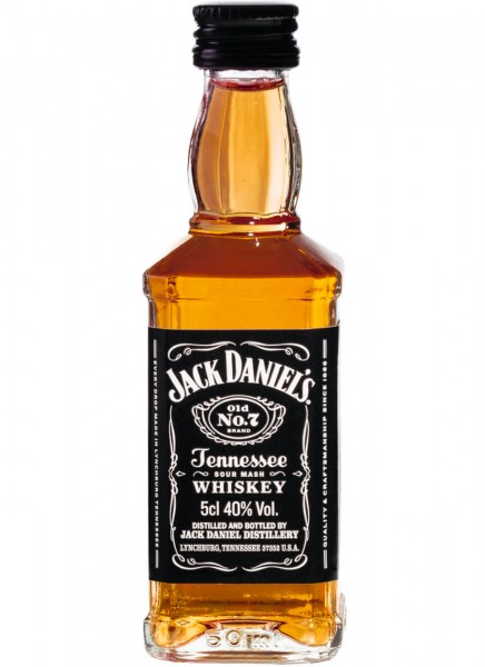 Jack Daniels Old No.7 Whiskey Mini 0,05 L