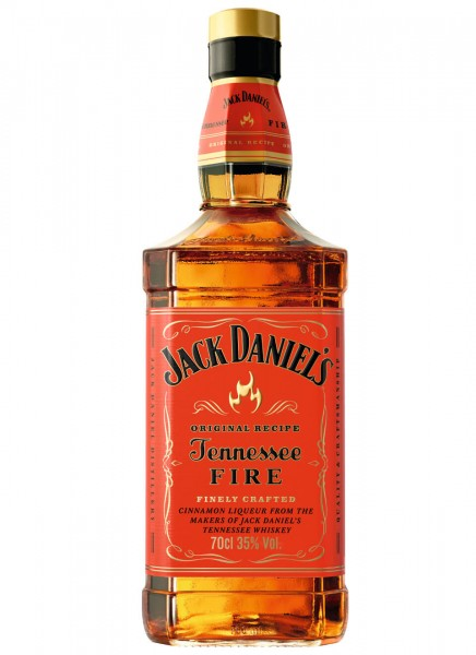 Jack Daniels Tennessee Fire Whiskey-Zimt-Likör 0,7 L