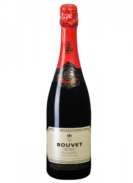 Bouvet Rubis Demi-Sec Crémant 0,75 L