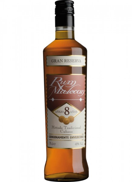 Malecon 8 Years Old Rum 0,7 L