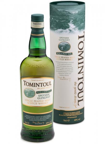 Tomintoul Single Malt Whisky Peaty Tang 0,7 L