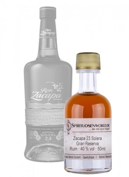 Zacapa 23 Solera Gran Reserva Rum Tastingminiatur 0,05 L