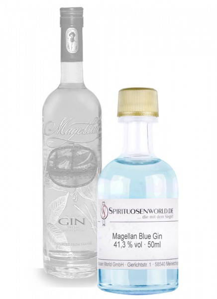 Magellan Blue Gin Tastingminiatur 0,05 L