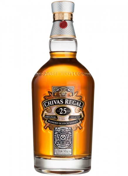 Chivas Regal 25 Jahre Blended Scotch Whisky 0,7 L