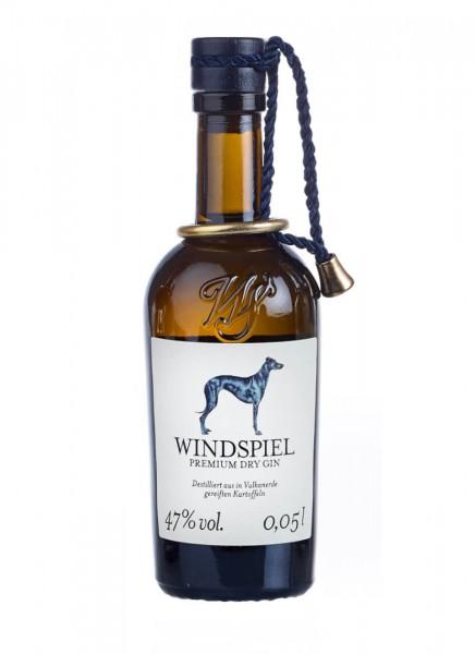 Windspiel Premium Dry Gin Miniatur 0,05 L