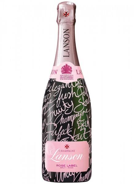 Lanson Rose Pink Edition Champagner 0,75 L