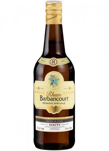 Barbancourt 8 Years Rum 0,7 L