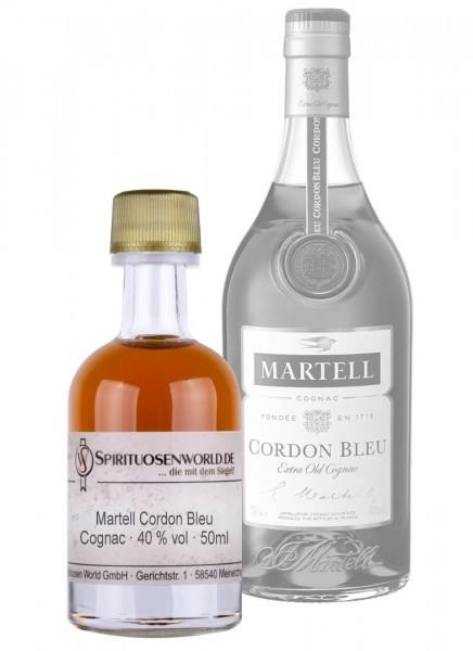 Martell Cordon Bleu Cognac Tastingminiatur 0,05 L