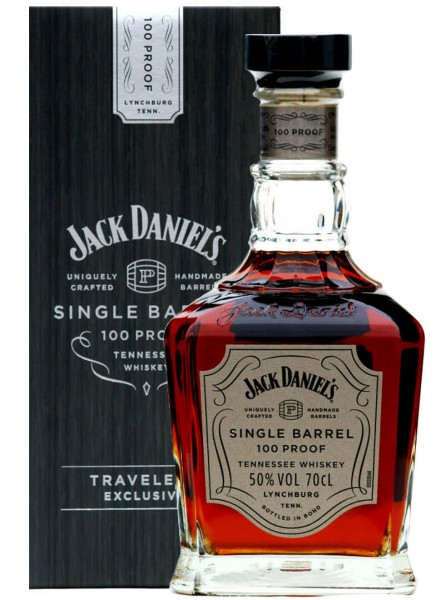 Jack Daniels Single Barrel 100 Proof Whiskey 0,7 L