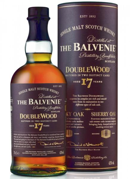 Balvenie 17 Years Doublewood Single Malt Scotch Whisky 0,7 L