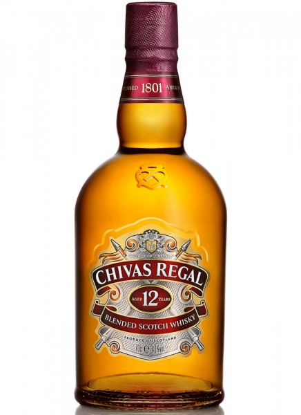 Chivas Regal 12 Years Blended Scotch Whisky 0,7 L