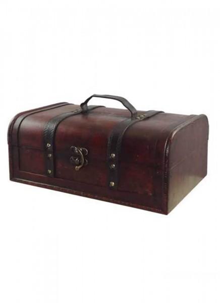 Holzkoffer Antik groß