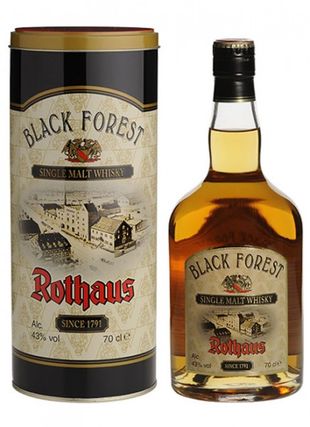 Black Forest Rothaus Whisky 0,7 L