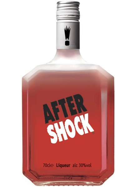 After Shock Hot & Cool Cinnamon Liqueur 0,7 L