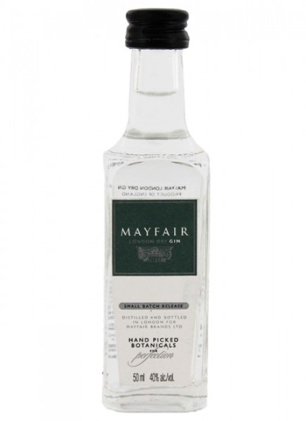 Mayfair London Dry Gin Miniatur 0,05 L