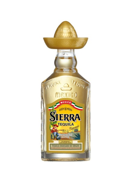 Sierra Gold Tequila Reposado Mini 0,04 L