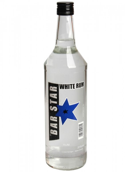 Bar Star White Rum 1 L
