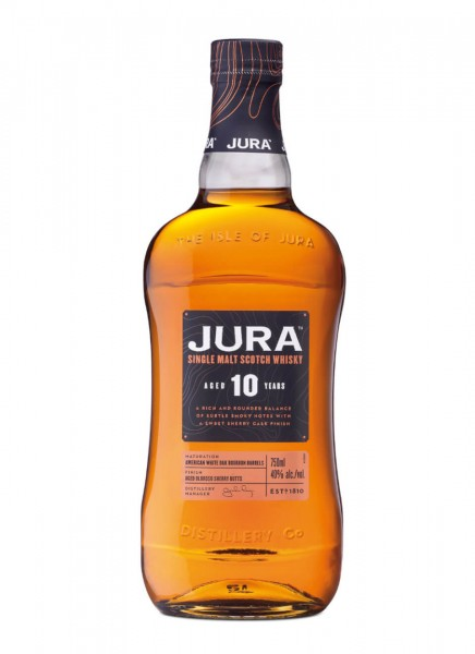Jura 10 Years Single Malt Scotch Whisky 0,7 L