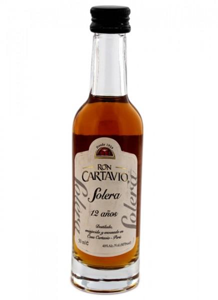 Cartavio 1929 Antiguo de Solera 12 Jahre Rum Miniatur 0,05 L