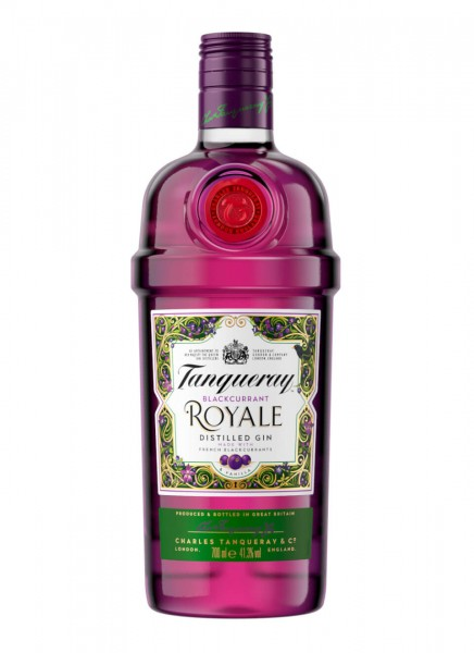 Tanqueray Blackcurrant Royale Distilled Gin 0,7 L