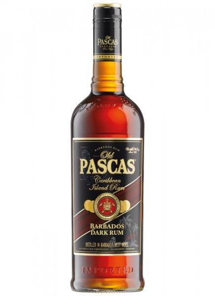 Old Pascas Barbados Dark Rum 1 L