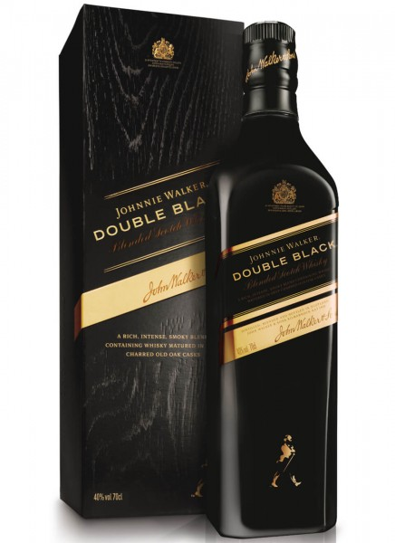 Johnnie Walker Double Black Blended Scotch Whisky 0,7 L