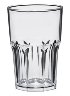 Granity Kunststoff Gläser 5 St.